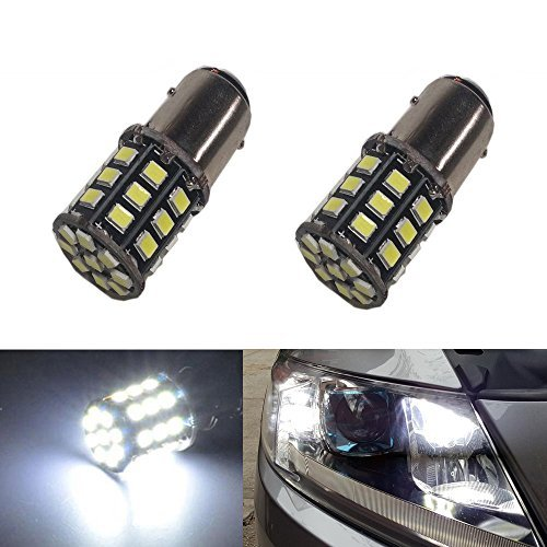 JDM ASTAR 800 Lumens Super Bright AX-2835 Chipsets 1157 2057 2357 7528 LED Bulbs ,Xenon White