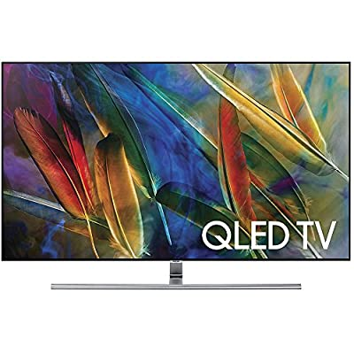 Samsung QN55Q7F - 55-Inch 4K Ultra HD Smart QLED TV (2017 Model) with 1 Year Extended Warranty
