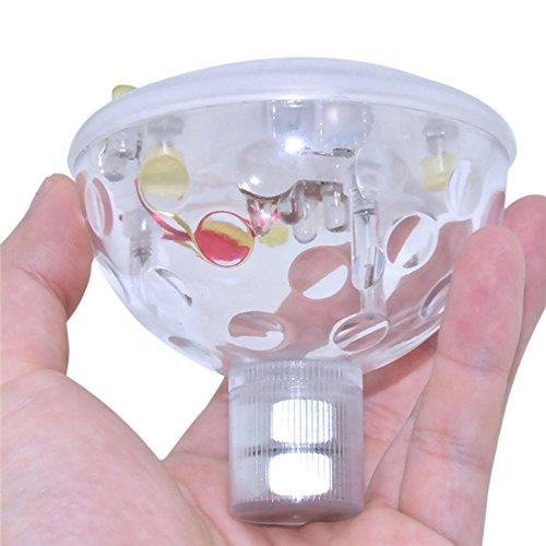 5 Modes Disco Aqua Underwater Glow Show Pond LED light SPA Bath Tub Floating bulb Child