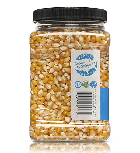 Franklin's Organic Popping Corn (28 oz). Make Movie Theater Popcorn at Home. by Franklin's Gourmet Popcorn (Image #2)