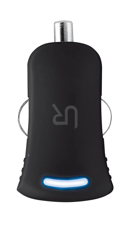 Trust Urban - Cargador USB universal de coche para smartphone, negro