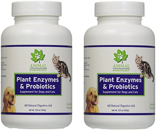 Animal Essentials Plant Enzyme With Probiotics (Pack of 3) Animal Essentials Plant