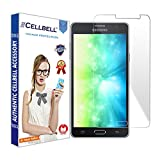 CELLBELL Samsung Galaxy On7/On7 Pro Tempered Glass Screen Protector With FREE Installation Kit