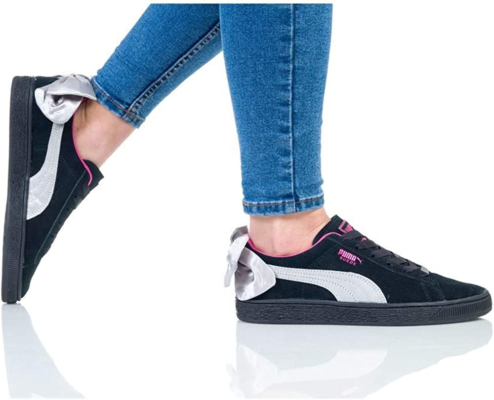 PUMA Suede Bow Jr, Sneakers Basses Fille