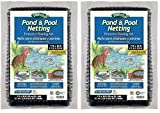Dalen PN10 Gardeneer by Pond & Pool Netting Protective Floating Net 7' x 10' (1, 2-(Pack))