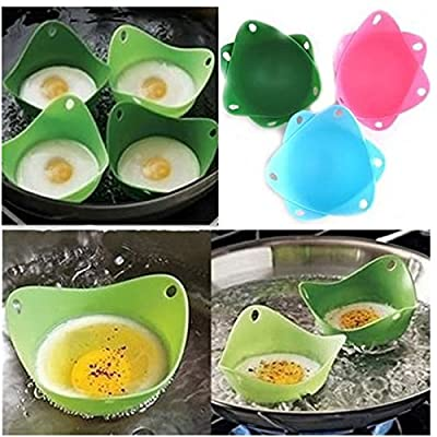 Egg Poacher Cook Poach Pods Silicone Kitchen Cookware Are In Hot Sale