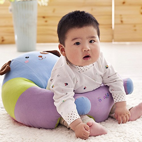 Lecent@ Lovely Animal Infant Safe Sitting Chair Comfortable Nursing Pillow Protectors for 3-12 Months (Dog) by Lecent (Image #2)