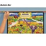 Best-Rite Bulletin Bars, 12 per Case, Colored Cork, 2-Feet (558-2)