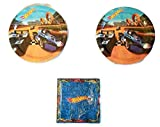Hot Wheels Party Bundle 9'' Plates (16) Napkins (16)