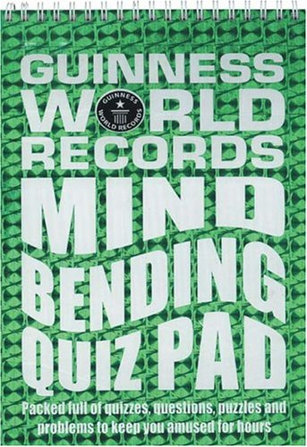 Guinness World Records: Mind Bending Quiz Pad