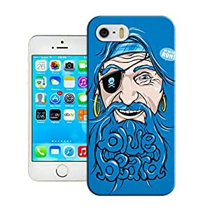 LarryToliver Creative Funny Picture of Customizable Art Wall Snap on iphone 5/5s Case Best Cover