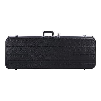 54a916edd1 Yaheetech ABS Electric Guitar Case Bass Molded Hardshell Hard Case - 41.3 x  15.4 x 5.1