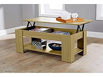 Caspian Lift Top Coffee Table With Storage U0026 Shelf   Espresso, Walnut, Oak,