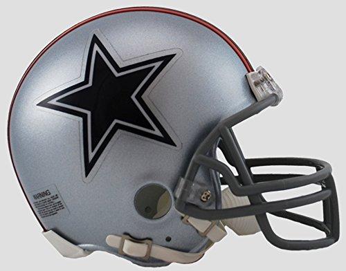 NFL Riddell Dallas Cowboys Mini Replica 1976 Throwback Helmet ()
