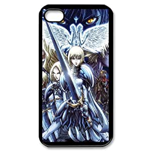 Cartoon Claymore for iPhone 4,4S Phone Case 8SS459393