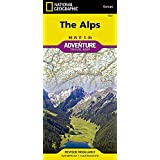Alps (National Geographic Adventure Map)