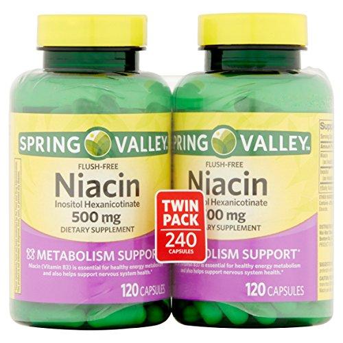 dietary supplement flush niacin