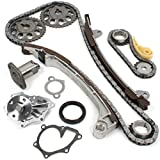 "CNS TK1080WP Brand New OE Replacement Timing Chain Kit and Water Pump Set for VVT-i ""2AZFE"" ""2AZ-FE"" ""1AZFE"" ""1AZ-FE"" Engine"