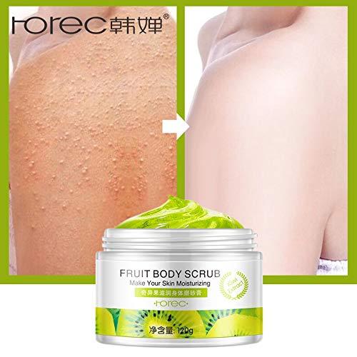 Portal Cool ROREC Fruit Body Scrub Crema Exfoliante Masaje Corporal Gel blanqueador Retracción Poros Mositure Cuidado de...
