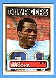 James Brooks 1983 Topps Football (Bengals)