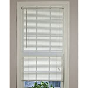 Amazon Com Mainstays 1 Quot Light Filtering Vinyl Mini Blinds