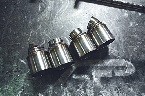Agency Power AP-991TT-171 Exhaust Tip(Quad GT2 Angle Style Porsche 991 (Gt2 Exhaust)