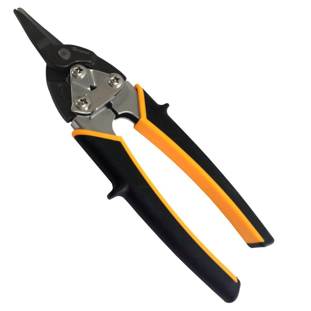 FUJIYA Forged Work Scissors (for gold cutting / straight) Small pocket size 180mm BKB-180M