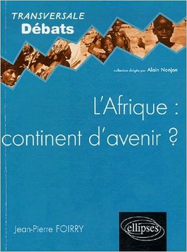 Livre gratuits L'Afrique : continent d'avenir? epub, pdf