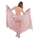 Bohemian Pareo - Mandala Sarong - Bikini Swimsuit Cover Up- Beach Dress - Wrap