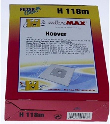 HOOVER-Juego de bolsas para aspirador HOOVER HOOVER x4: Amazon.es ...