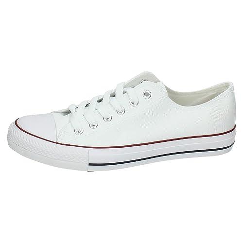 DEMAX 9-A1612A-12 Deportivas Blancas Hombre Zapatillas: Amazon.es: Zapatos y complementos