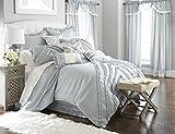 Amrapur Overseas | Julianne 24-Piece Ruffled Comforter Set (Blue, King)