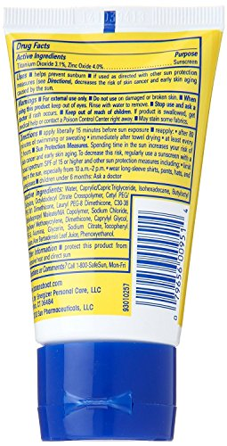 Banana Boat Kids Tear Free Sunscreen Lotion Travel Size SPF 50, 2 Ounce (Pack of 4) by Banana Boat (Image #1)