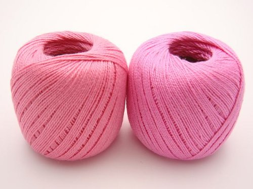 Lot 45 Balls Size 10 Crochet Cotton Threads Yarn Knitting. All Different Colors. by  Clea 125 (Image #5)