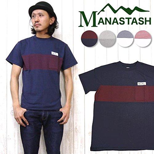 マナスタッシュ COOL MAX RIVER TEE 画像1