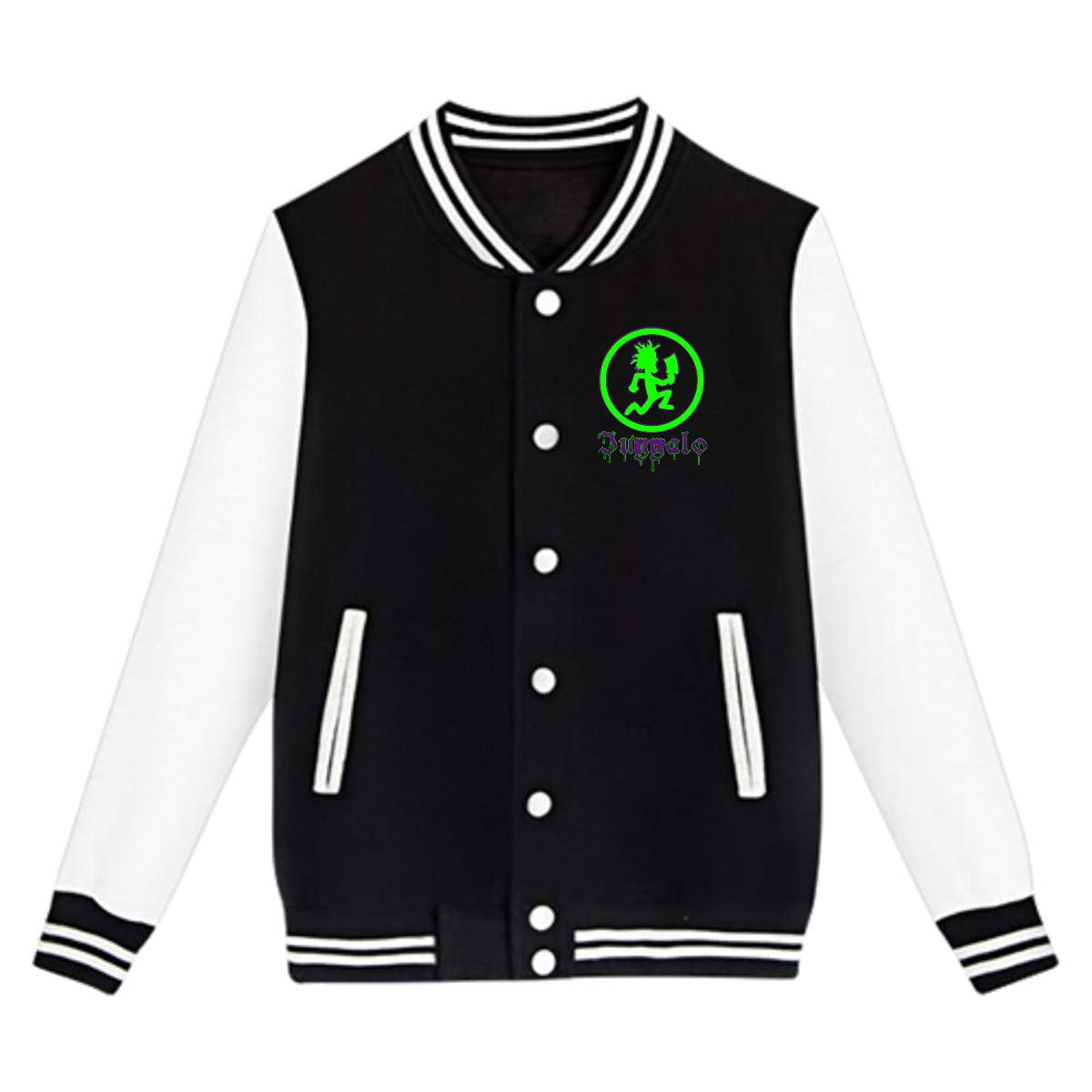 LIALUER Hatchetman ICP Boys Kids Baseball Jacket Uniform V Sweater Coat