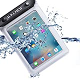 Walnew Universal Waterproof eReader Protective Case Cover for Kindle Oasis, Kindle Paperwhite, Kindle Keyboard,Amazon Kindle eReader, Kindle Fire, Sony Kobo Nook ereader, iPad Mini and more,White