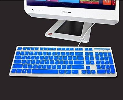 Funda de silicona para teclado de pantalla para Lenovo All-in-One ordenador de