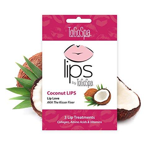 Coconut Lips- 1 Pack (3 Masks)
