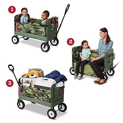 Radio Flyer 3-in-1 Camo Wagon: Toys & Games