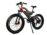 Cheap Addmotor MOTAN Electric Bike 26 Inch Fat Tire 500W Motor Power Electric Bicycle 2017 M-850 Snow Beach Mountain E-bike With 48V Lithium-Ion Battery(Red/Black)