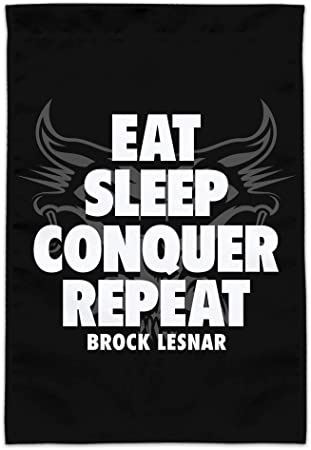 Repeat License Plate Tag Frame Graphics and More WWE Brock Lesnar Eat Conquer Sleep