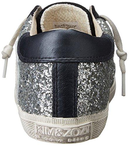 Kim & Zozi Donna Argento Bassa Moda Sneaker Argento