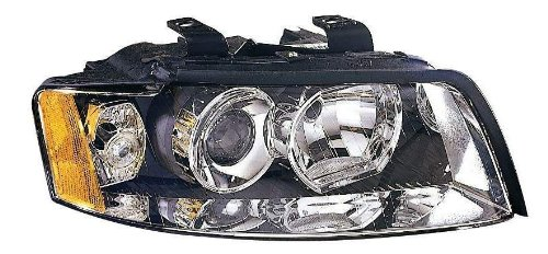 Depo 341-1111R-AS Audi A4/S4 Passenger Side Replacement Headlight - A4 Headlight Assembly Audi