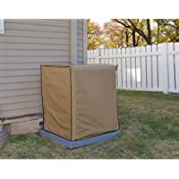 Air Conditioning System Unit YORK MODEL YCD30B21 Waterproof Tan Nylon Cover By Comp Bind Technology Dimensions 24W x 24D x 30H
