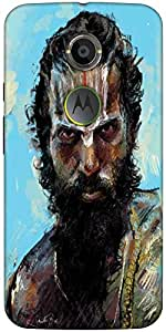 Snoogg Sadhu Full Zoom 2784 Designer Protective Back Case Cover For Moto X2