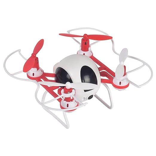 LJJOZ Mini Drone de Cuatro Ejes Pequeño avión de Control Remoto ...