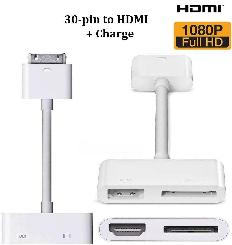 New Apple VGA Adapter Genuine Authentic Cable for iPad iPhone 4 4s iPod Touch