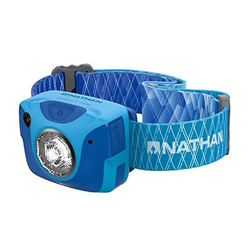 Nathan Nebula Fire Runner's Headlamp, Atomic Blue Grey
