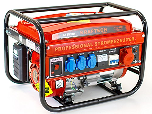 benzin stromerzeuger benzin generator kt 8500w mit 3 0 kw. Black Bedroom Furniture Sets. Home Design Ideas